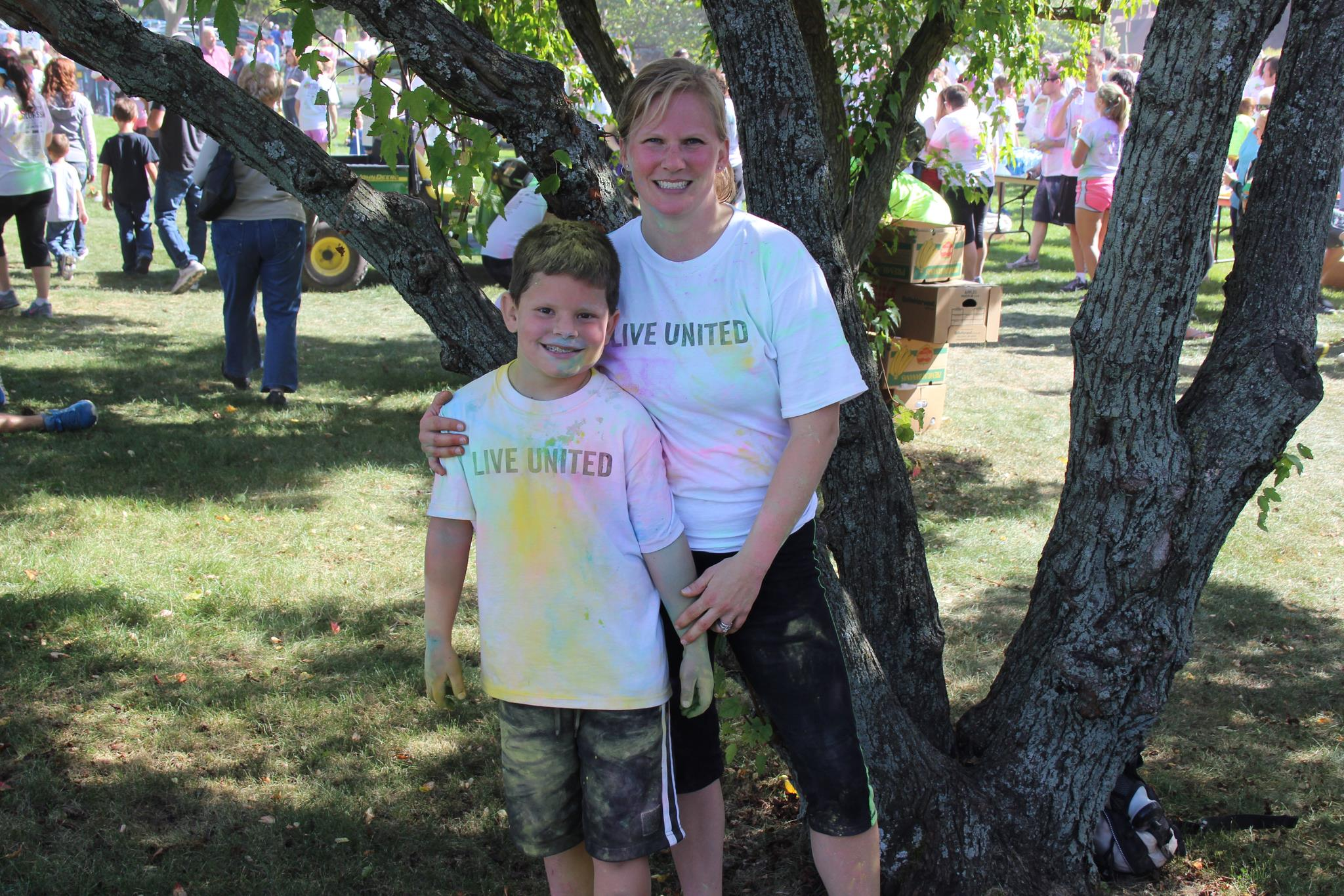 Participated in the 2013 Color Run.